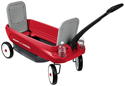 Amazon.com: Radio Flyer 2 en 1 carro de viaje (renovado ...