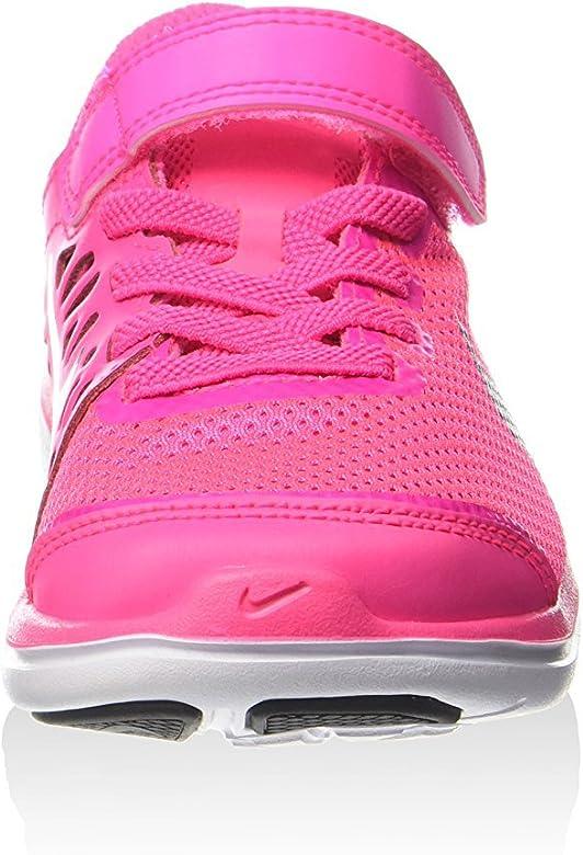 Nike Flex 2016 RN (PSV), Zapatillas de Running para Niñas, Rosa (Pink Blast/Metallic Silver-Black), 31 EU: Amazon.es: Zapatos y complementos