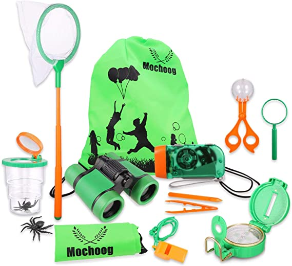 Travel Insect Net Nature Exploration Kids Toy Hiking Butterfly Bugs Parent Child