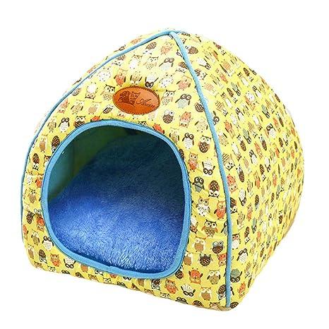 Queta - Caseta para Perros (tamaño pequeño, tamaño Mediano, con colchón Desmontable,