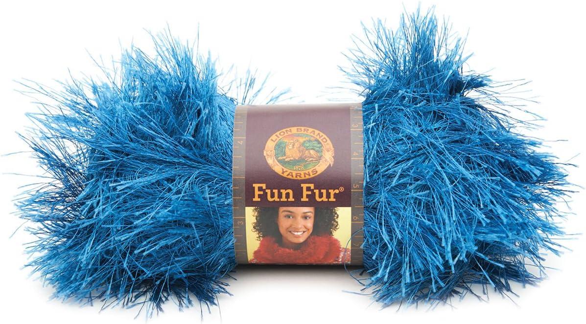 Lion Brand Fun Fur eyelash~17 menu choices~40 to 50g each~SHIPS free