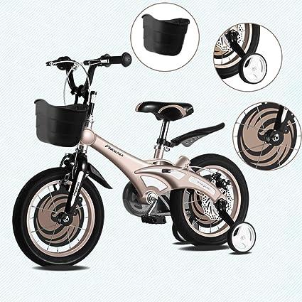 DT La Nueva Bicicleta Infantil de 14/16 Pulgadas Bicicleta Masculina y Femenina para bebés
