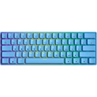 GK61 Mechanisch Gaming Toetsenbord - 61 Toetsen Multi Color RGB Verlichte LED Backlit Bedraad Programmeerbaar voor PC…