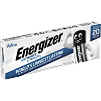 Energizer 634352 Batterij AA/LR6 Ultimate Lithium 10-Delig