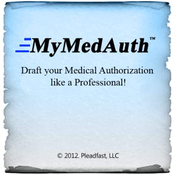 amazon com mymedauth hipaa medical authorization forms appstore