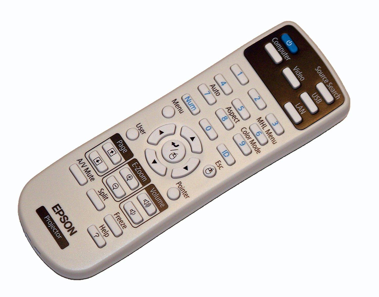 Epson Projector Remote Control: PowerLite 97H, PowerLite 98H, PowerLite 99WH, PowerLite 965H 41918
