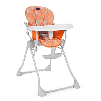 Happy Bébé Chicco Chaise Pocket Haute Ultra Orange Meal Compacte Y7gIfyb6v