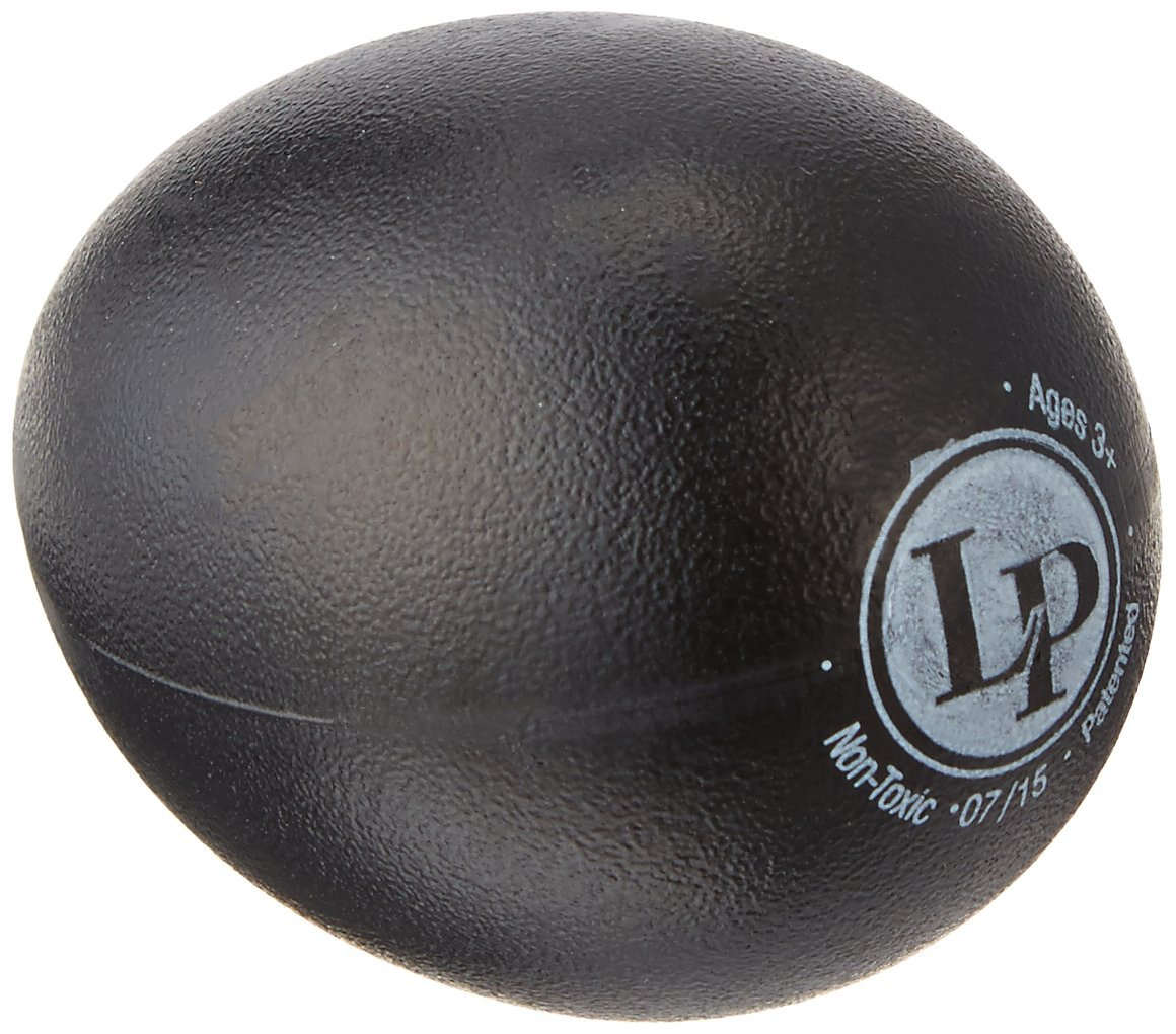 Latin Percussion LP001-BK Plastic Egg Shakers Black Bag Of 36