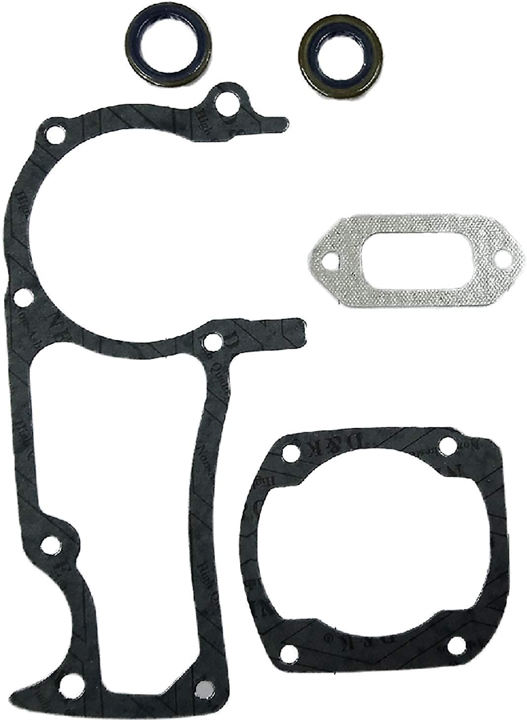 HUSQVARNA 242 COMPLETE GASKET SET CHAINSAW NEW