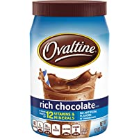 Nestle Ovaltine Rich Chocolate, 12 Ounce