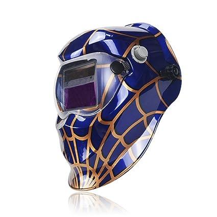 Deko araña Solar oscurecimiento automático máscara de soldadura eléctrica/ casco/soldador cap/lente