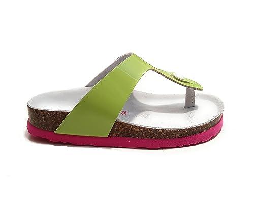 18d056e2d044 Bionatura Girls  Thong Sandals Green Size  6  Amazon.co.uk  Shoes   Bags