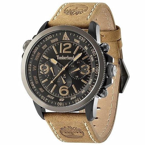 3cf723754bfe Reloj hombre TIMBERLAND CAMPTON 13910JSBU-02  Amazon.es  Relojes