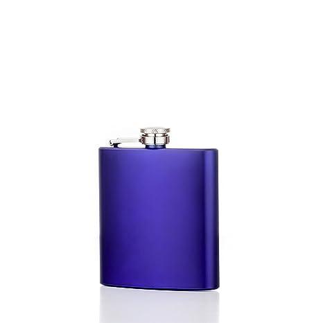 Amazon.com: North 6 oz Mate Púrpura Flask – 304 (Acero ...