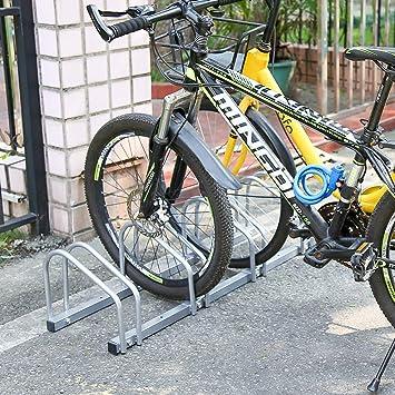 Aparcamiento para bicicleta soporte para aparcar 5 bicicletas ...
