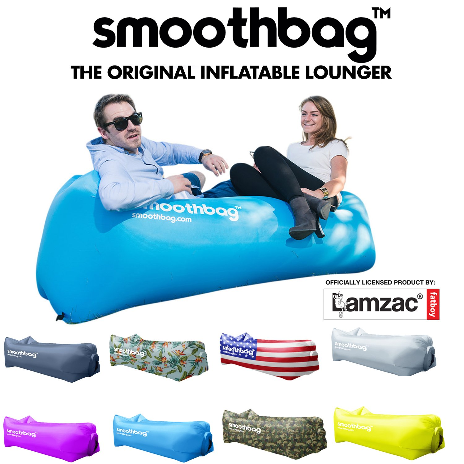 amazon com inflatable lounger chair with detachable pillow