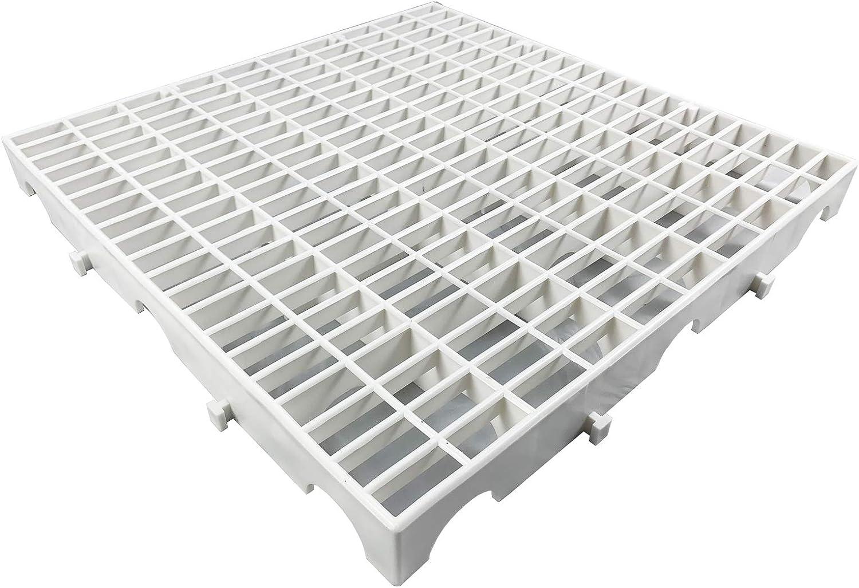 Floor Net Mat Plastic Floor Grid for Pigeon loft Decking Pet mat High-Strength Material Pigeon Grid Ground Plastic Ground net 20×20×2in