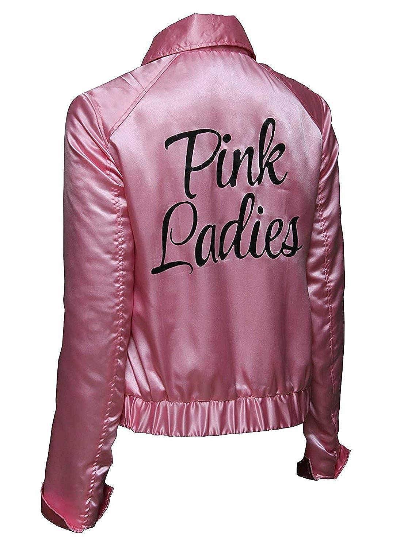 BlingSoul Pink Satin Jacket - 1950s Costumes for Women BSO-PLSJ-SA2-PP