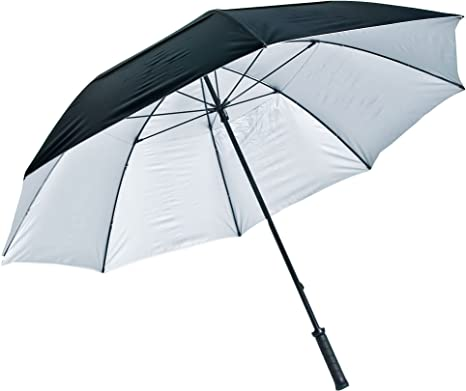 LONGRIDGE - Paraguas con protección Ultravioleta, Color Negro y ...