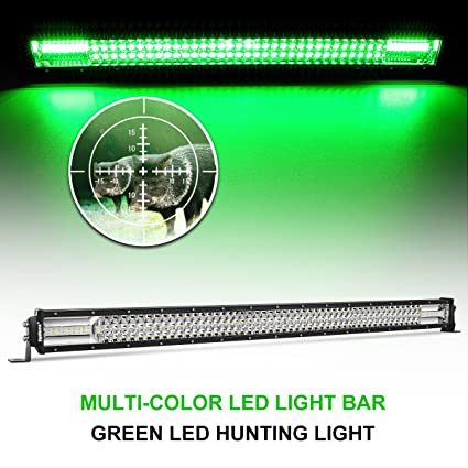 Snake Racing Led Light Bars Amazon led light bar rigidhorse 42 360w dual color led green led light bar rigidhorse 42quot 360w dual color led green light bar combo whitegreen lights audiocablefo
