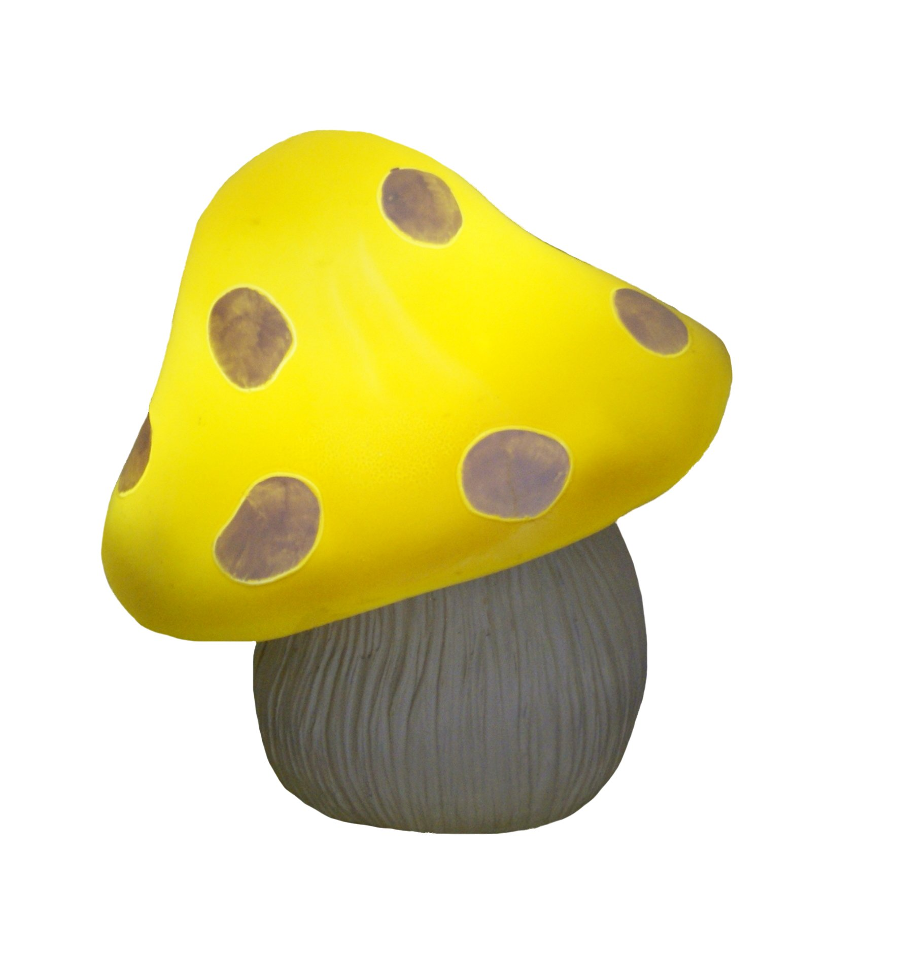TIAAN 12'' Yellow Solar mushroom LED light Garden mushroom