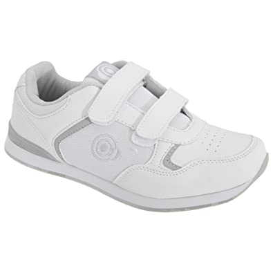 Womens/Ladies Lady Skipper Touch Fastening Trainer-Style Bowling Shoes