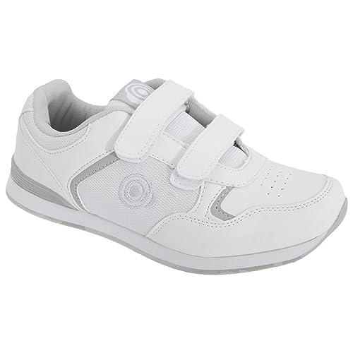 Dek - Zapatillas deportivas modelo Bowling con cierre de velcro para mujer: Amazon.es: Zapatos y complementos