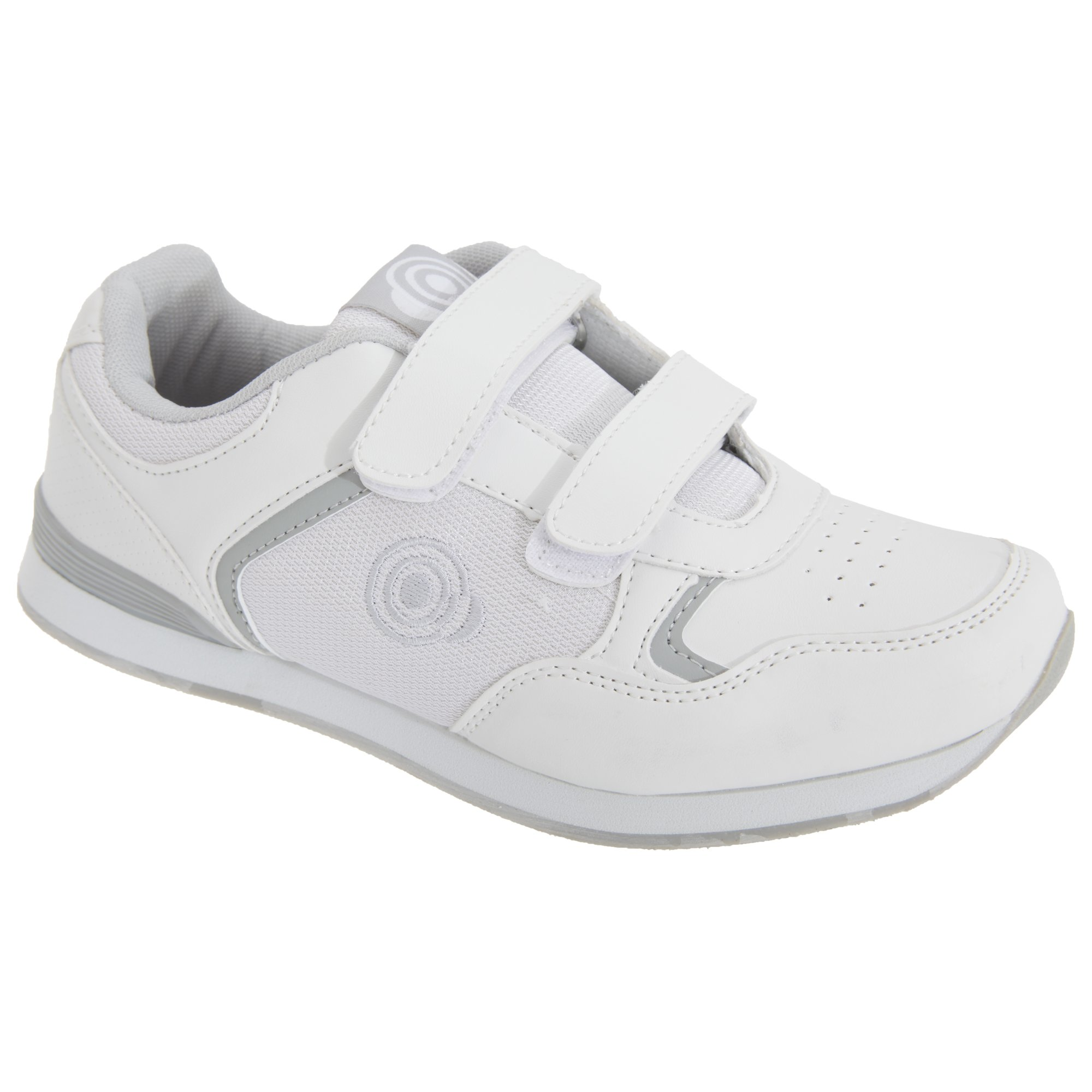 Dek Womens/Ladies Lady Skipper Touch Fastening Trainer-Style Bowling Shoes (9 US) (White)