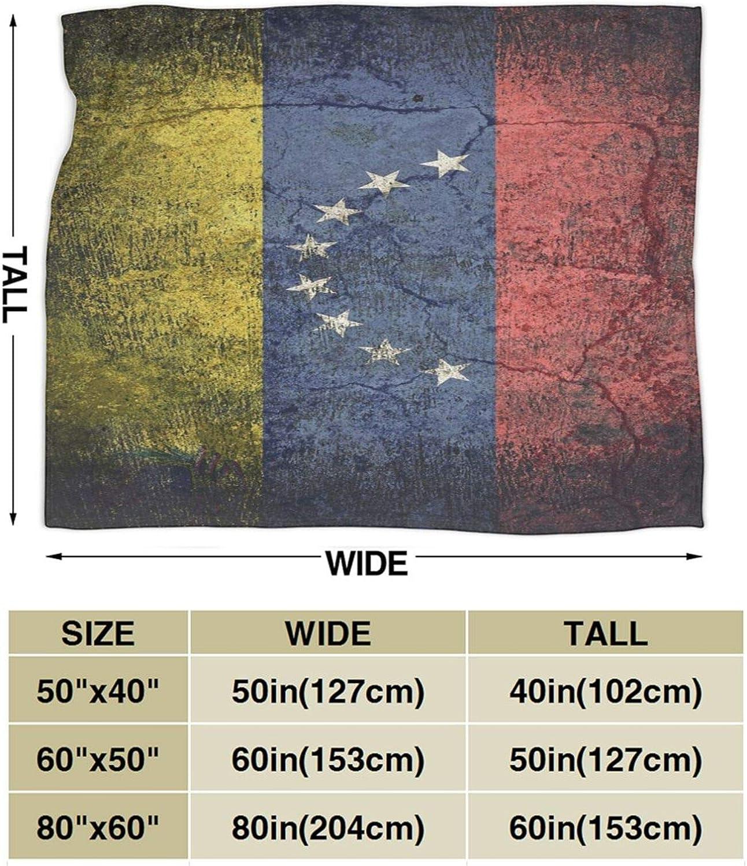 sof/á sof/á 3 tama/ños N \ A Retro Venezuela bandera ligera para todas las estaciones manta de franela c/álida acogedora para dormitorio sala de estar