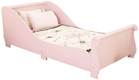 Kidkraft Sleigh Toddler Bed 86735 Furniture Pink