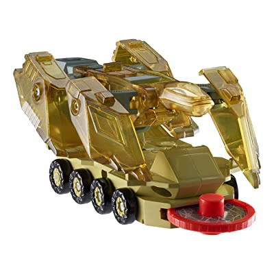 Screechers Wild Level 2 - Komoto Flipping Morphing Toy Car Vehicle, 4\'\' x 2\'\', Gold: Toys & Games [5Bkhe0905624]