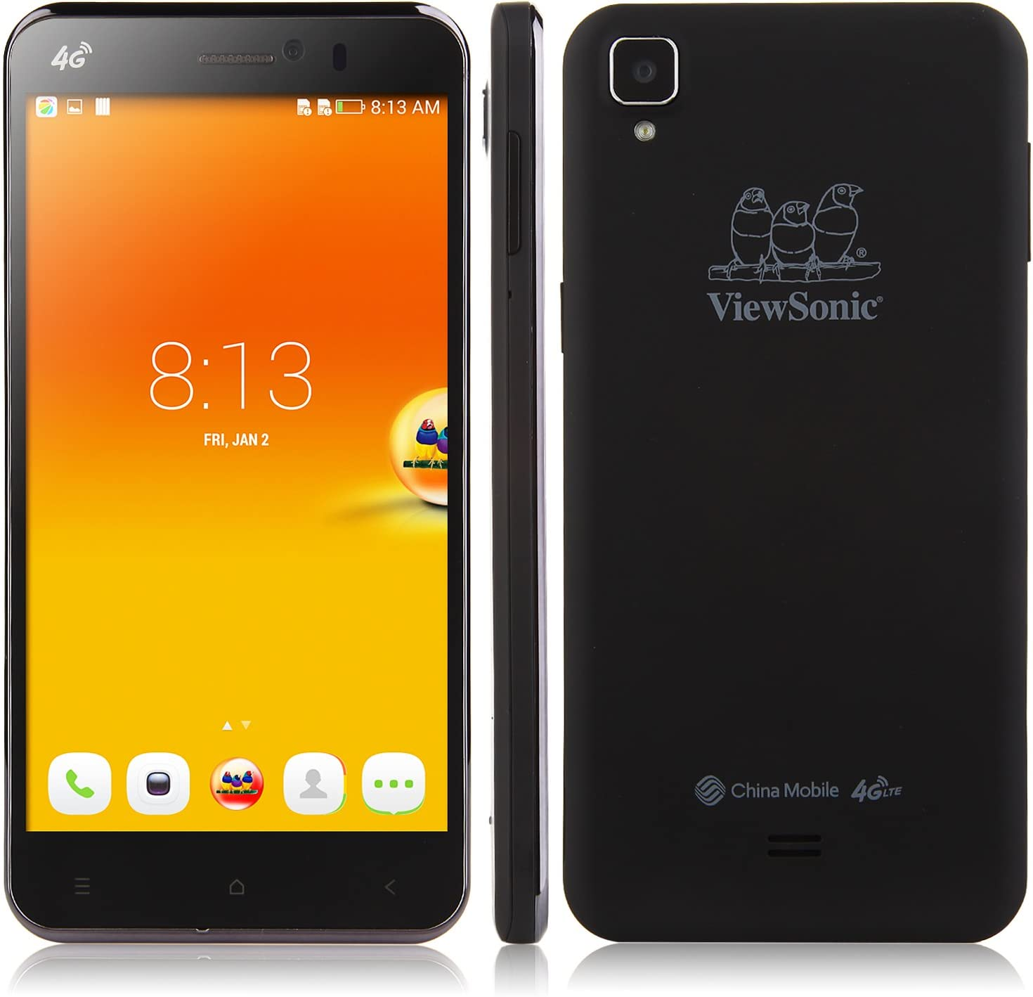 5.5 Pulgada ViewSonic V500 Smartphone 4G Android 4.4.2 Qualcomm ...