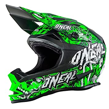 0583M-102 - Oneal 7 Series EVO Menace Motocross Helmet S Neon Green