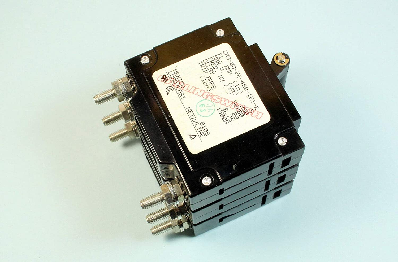 CA3-80-22-450-121-E Triple 3 Poles Ronxing Carling Switch Circuit Breaker 5A 250v