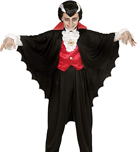 WIDMANN 00349 Infantil Disfraz Vampiro, 134: Amazon.es: Juguetes y ...
