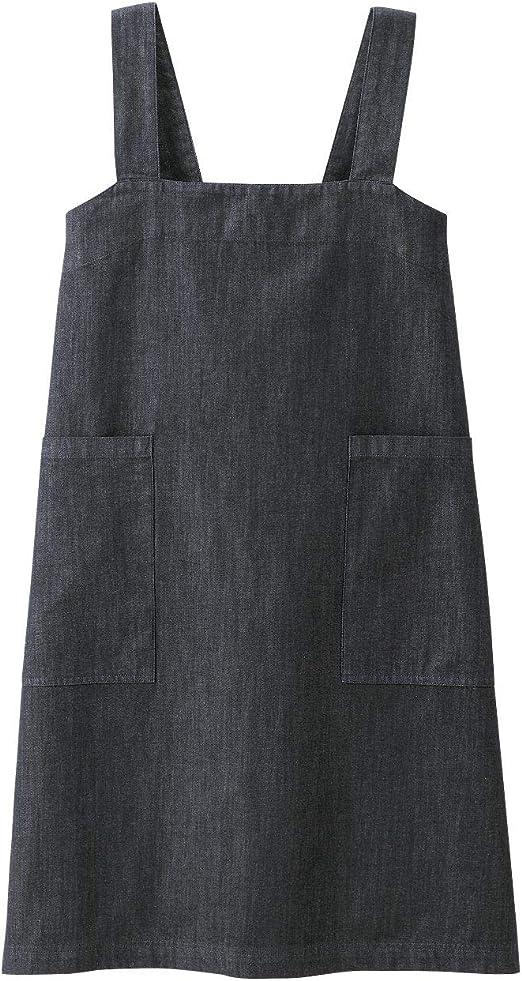 MUJI - Delantal de algodón vaquero para cocinero (talla M ...