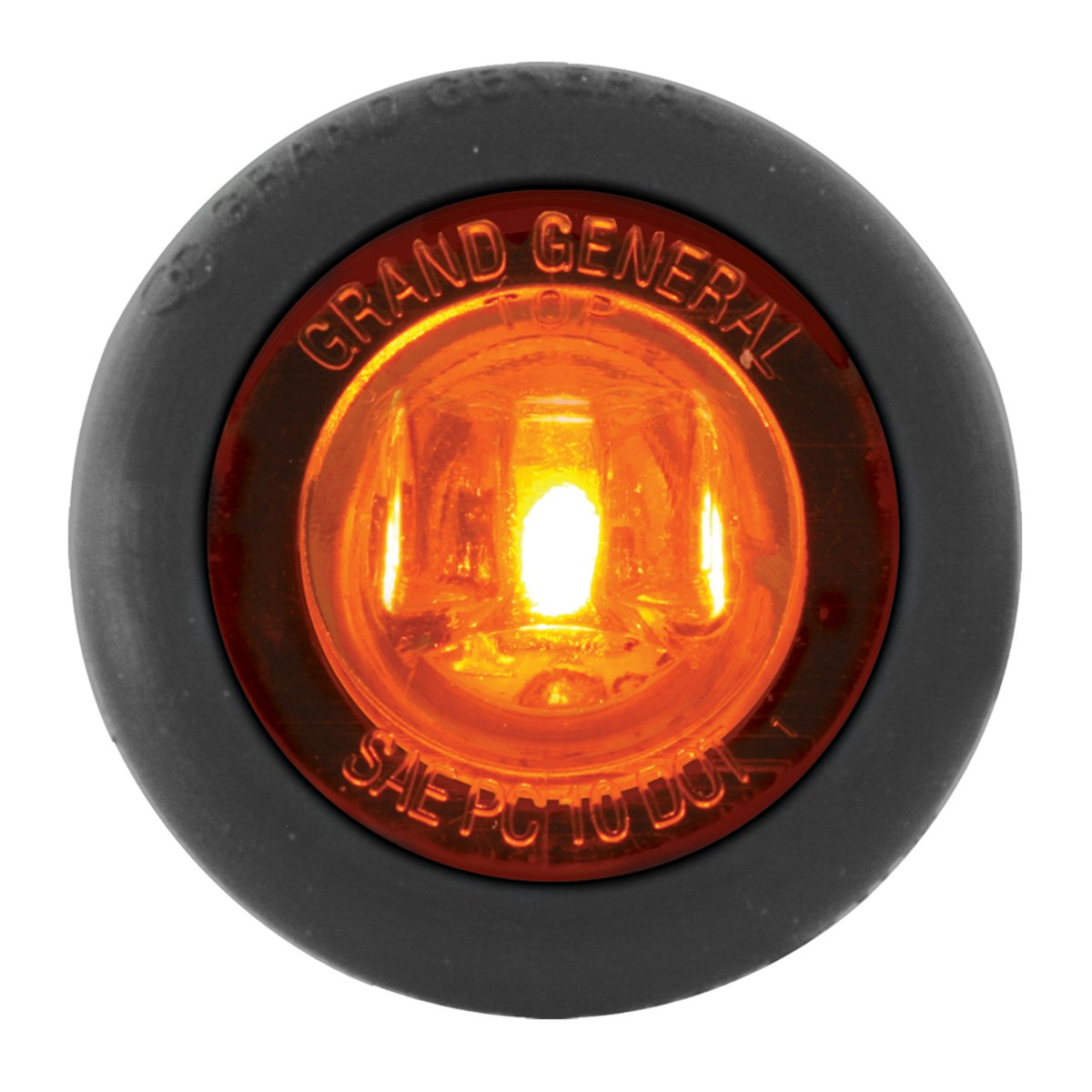 """RVs and More Red//1 Pack ATVs Grand General 75292 1/"""" Dual Function Mini Wide Angle LED Light with Rubber Grommet For Trucks Trailers UTVs"""