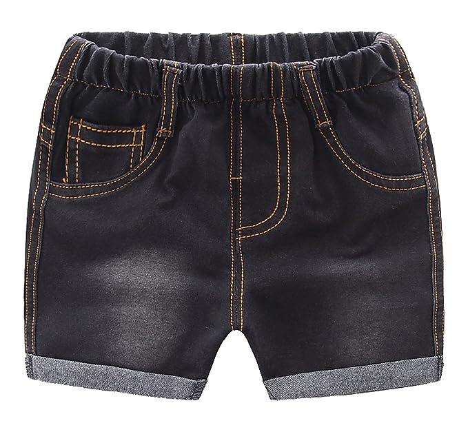 Amazon.com: mmworm bebé corto jeans pantalones Boy Jeans ...