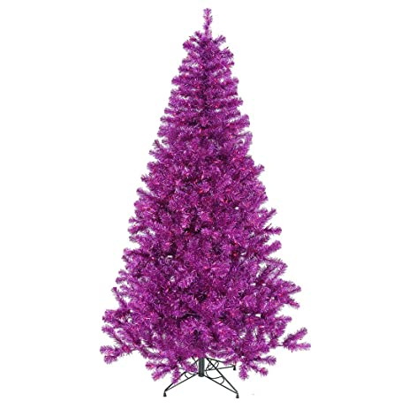 Amazon.com: Vickerman Artificial Christmas Tree with 105 PVC Tips ...