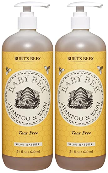 e452a128d Amazon.com  Burt s Bees Baby Bee Shampoo and Body Wash - 21 oz - 2 ...