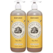 Burt's Bees Baby Bee Shampoo and Body Wash - 21 oz - 2 pack