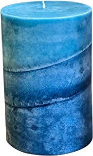 product image for Wicks n More Caribbean Blue Scented Candle (4x6)