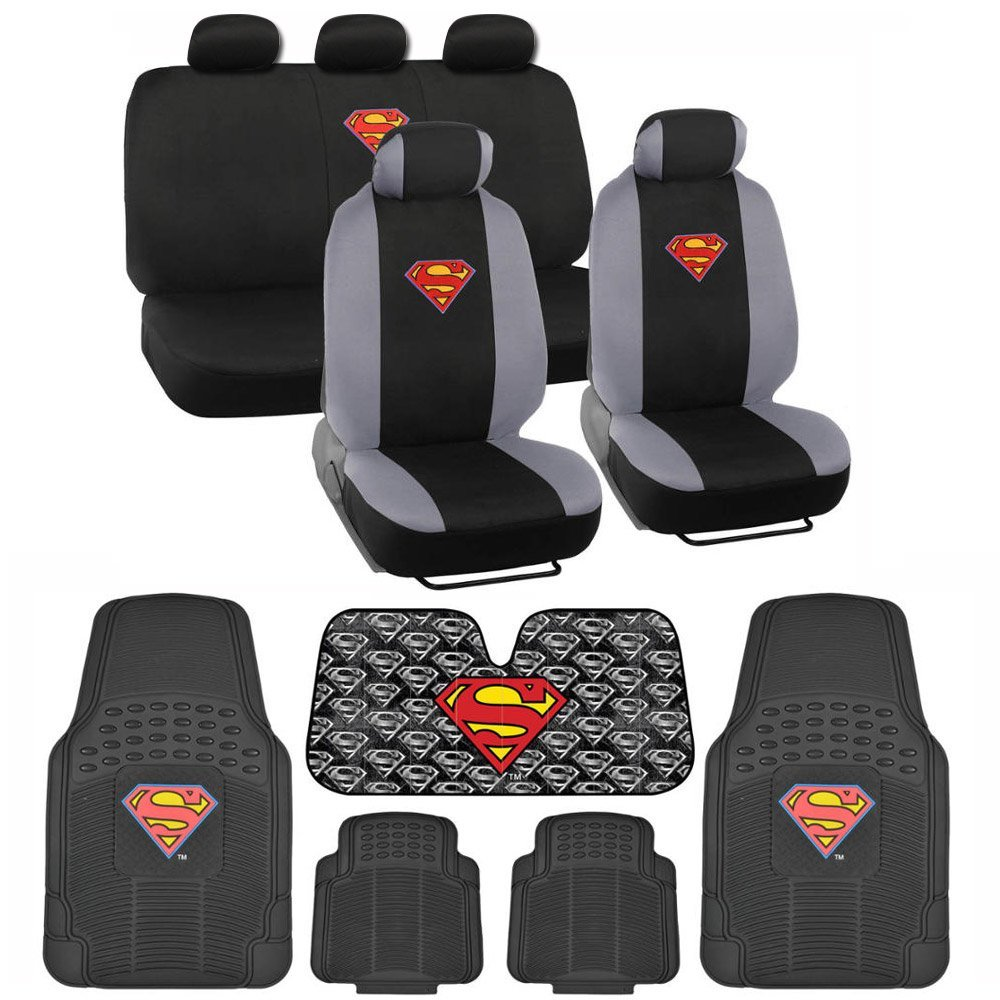 Superman Head Seat Cover | www.topsimages.com