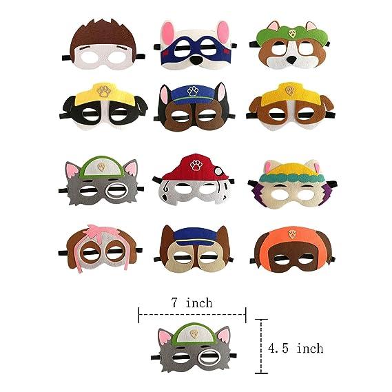 Amazon.com: Máscaras de fiesta de cumpleaños para niños ...
