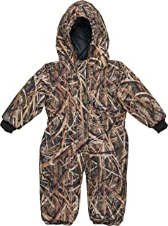 17864648599f Amazon.com  Carhartt Baby Boys  Camo Snowsuit  Clothing