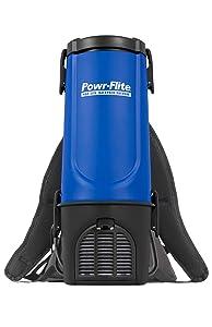 "Powr-Flite BP4S Pro-Lite Backpack Vacuum, 22.5"" Height, 9.5"" Length"