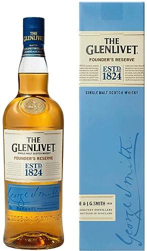 The Glenlivet Founder's Reserve Single Malt Scotch Whisky, 70 cl