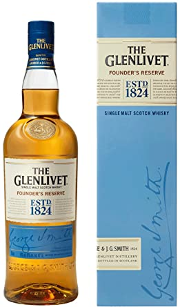 the glenlivet founder s reserve single malt scotch whisky 70 cl