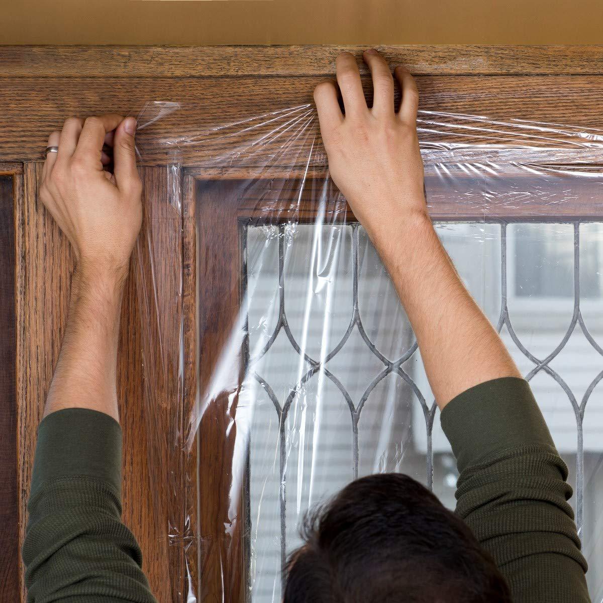 Renewed Duck Brand Indoor 5-Window Shrink Film Insulator Kit 62-Inch x 210-Inch 286217