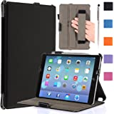 i-Blason Apple iPad Mini with Retina Display Case (2nd Generation) Auto Wake / Sleep Smart Cover Slim Folio Book Shell Stand case Cover Wifi 3G 4G LTE with Stylus Loop & Bonus Stylus (Black)
